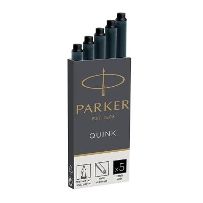 PARKER Quink Kartuş 5'li Kutu Siyah