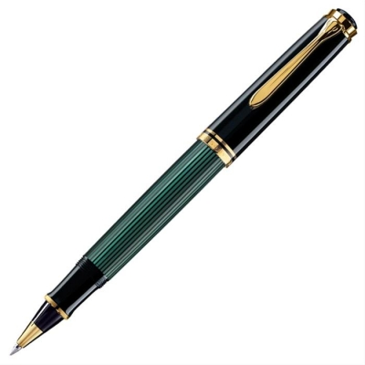 PELİKAN SOUVERAN Roller Kalem Siyah-Yeşil R600