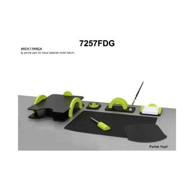BESTAR ARCH Sümen Takımı7 Parçalı Parlak Yeşil 7257 FDG